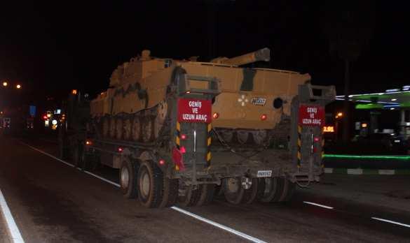 Турецкие танки вошли в сирийский Африн (+ФОТО, ВИДЕО) | Русская весна