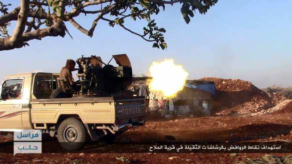 Сводка: боевики отступают в Латакии и Алеппо, ВВС громят ИГИЛ под Пальмирой и в Дейр Зор, — «Тимур»   Русская весна