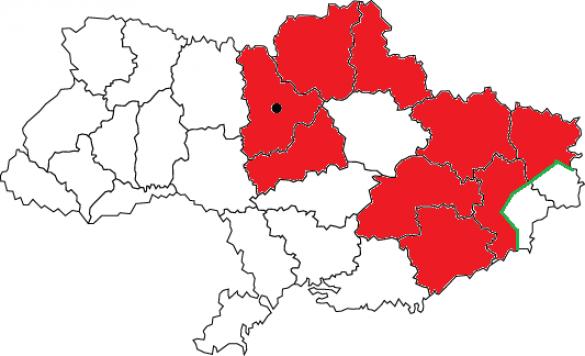 Кабмин Украины назвал семь областей, где будут отключать свет (КАРТА) | Русская весна