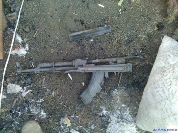 Донбасс: Уничтожена передовая позиция ВСУ(ФОТО)   Русская весна