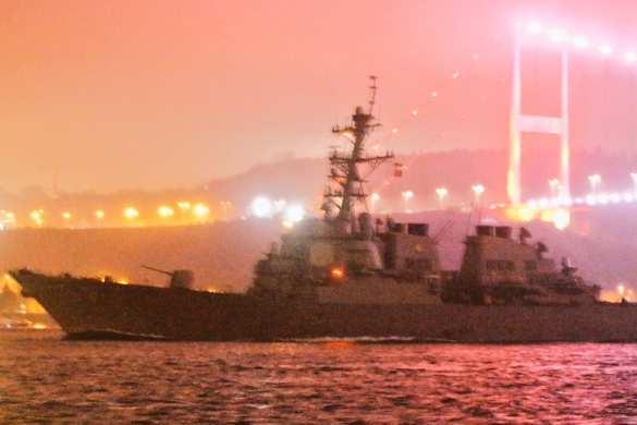 В Черное море вошел эсминец ВМС США, наносивший ракетные удары по Сирии (+ФОТО) | Русская весна