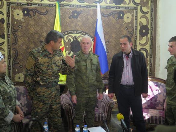 Удар в спину США: Армия России мирит курдов и Дамаск (ФОТО) | Русская весна