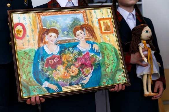 Воспитанницы пансиона Минобороны России навестили сирийскую девочку, доставленную налечение вМоскву (ФОТО) | Русская весна