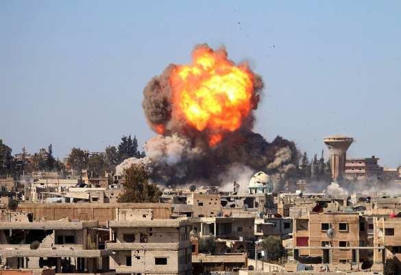Жестокие бои игигантские взрывы: Армия Сирии уничтожила более 110 боевиков и смертника вг. Дараа (ФОТО, ВИДЕО) | Русская весна
