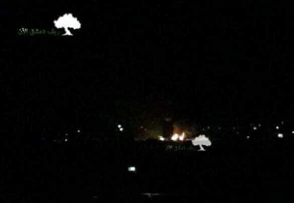 МОЛНИЯ: Над Сирией сбит ударный БПЛА Израиля, атаковавший Дамаск (ФОТО, ВИДЕО) | Русская весна