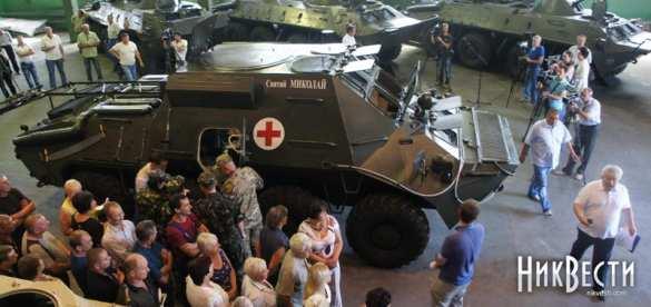 История одного пиара: единственный в украинской армии БТР «Скорой помощи» сломался по дороге на Донбасс | Русская весна