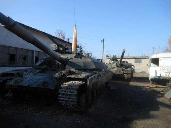 Ополченцы захватили современные украинские танки «Булат» (фото/видео)   Русская весна