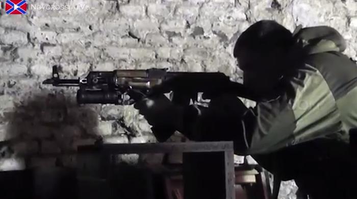 Учебный центр Народного корпуса ополчения — II (видео) | Русская весна