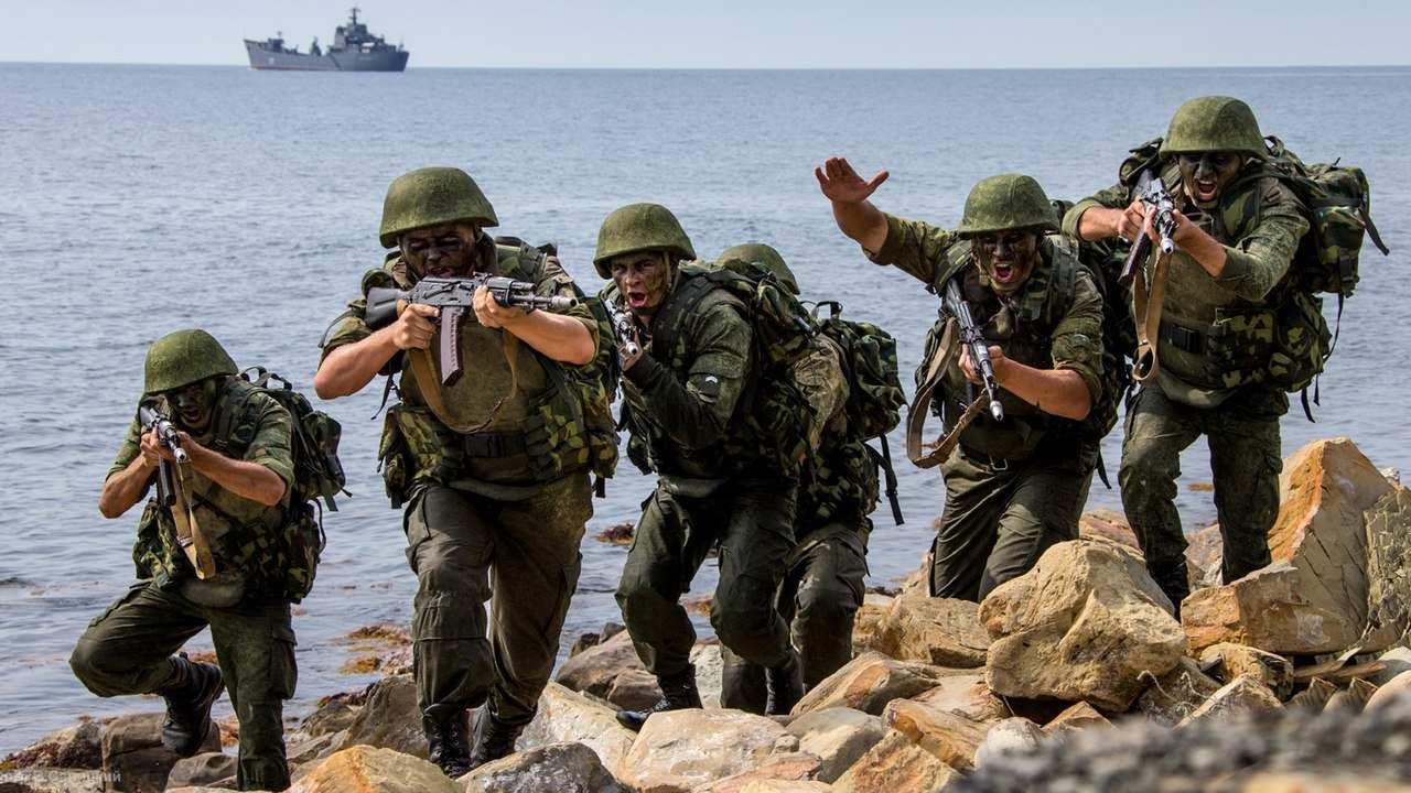 Русские идут: более 1250 морских пехотинцев прибыли в Сирию | Русская весна