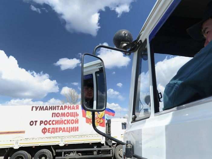 Гуманитарный конвой МЧС России с помощью для Новороссии прибыл на границу | Русская весна