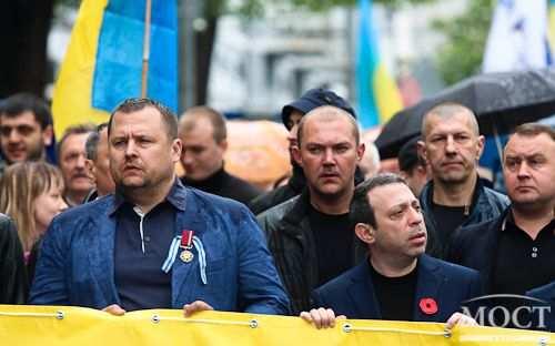 9 мая в Днепропетровске: шествуют Корбан, Филатов и каратели  | Русская весна