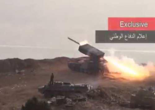 Применение в Сирии «Адского оружия» из России (ВИДЕО) | Русская весна