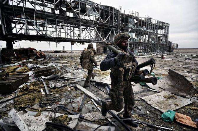 СЦКК: идет обстрел нового терминала донецкого аэропорта | Русская весна