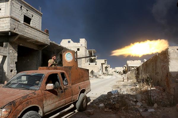 «Держимся из последних сил»: банды паникуют, котел в Алеппо на грани рассечения (ФОТО, ВИДЕО, КАРТА) | Русская весна