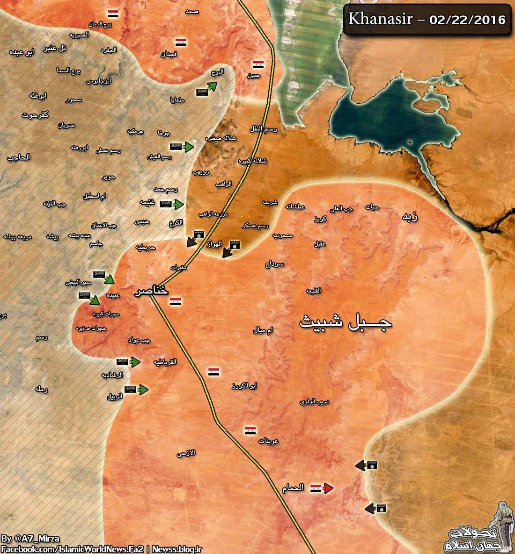 ВАЖНО: Критическая ситуация в Алеппо — идут ожесточенные бои за «дорогу жизни», войска пытаются выбить ИГИЛ (+КАРТА) | Русская весна