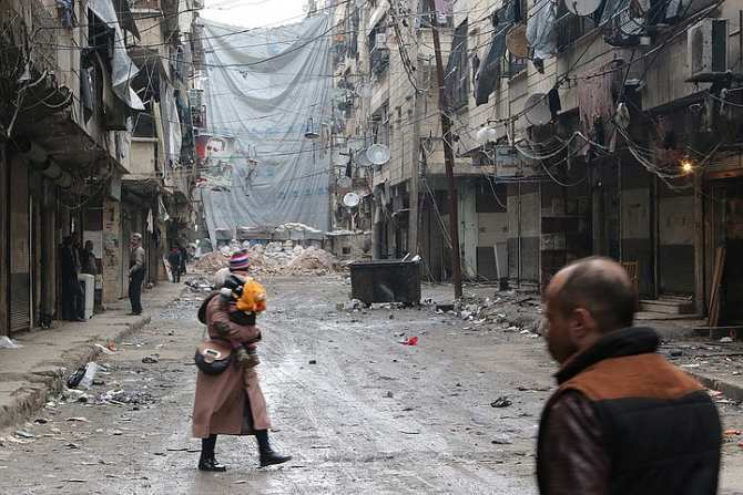 Жители Алеппо: нам не нужна помощь от Турции | Русская весна
