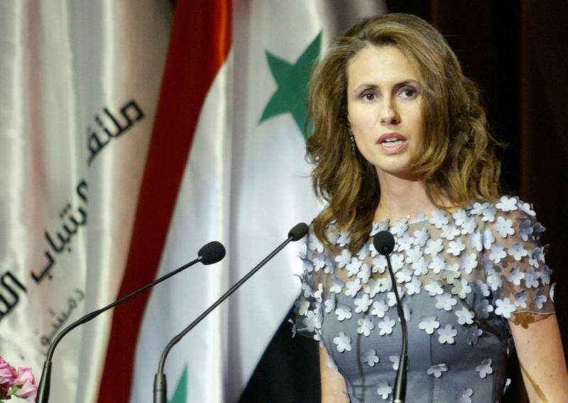 Сирийская львица: неделя с Альмой Асад (ВИДЕО)   Русская весна
