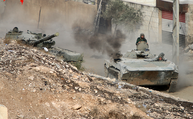 Сирийская армия штурмует город, гдепрячутся убийцы российского лётчика | Русская весна