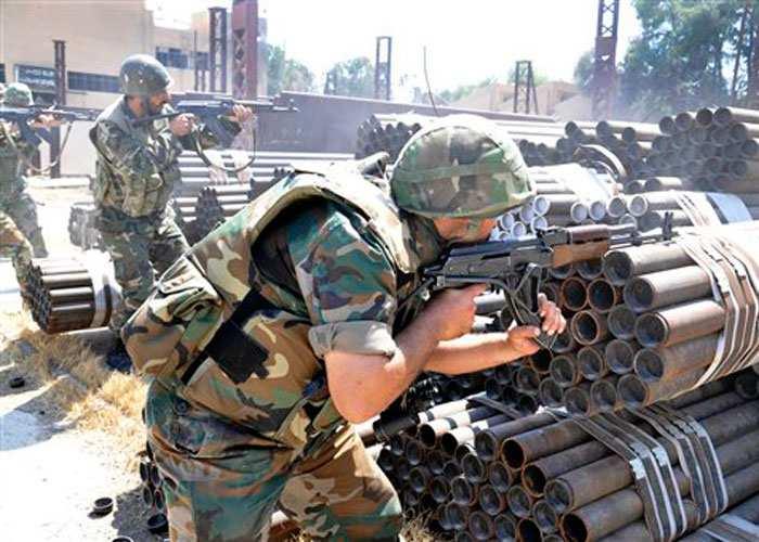 Сводка от «Тимура»: идут ожесточенные бои, в Дарайском котле, Латакии и Алеппо Сирийская Армия теснит боевиков | Русская весна