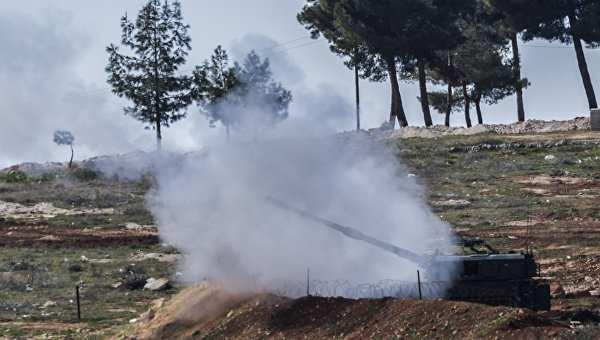 Турецкая артиллерия обстреляла территорию Сирии | Русская весна