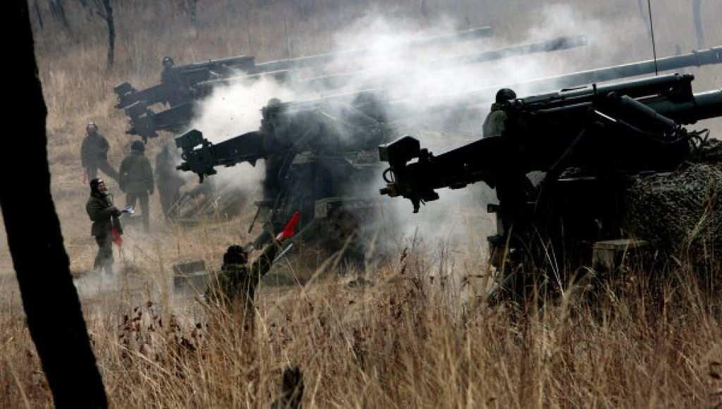 СРОЧНО: ВСУ расстреливают Горловку | Русская весна