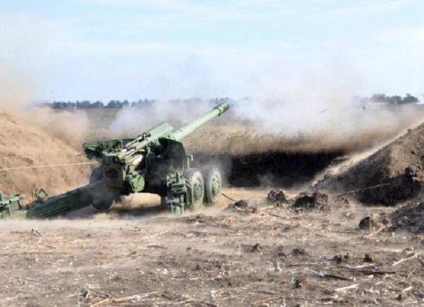 ВСУ обстреляли окрестности Ясиноватой из тяжелой артиллерии | Русская весна