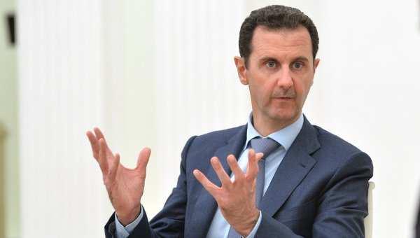 Асад прокомментировал требования оегоотставке | Русская весна