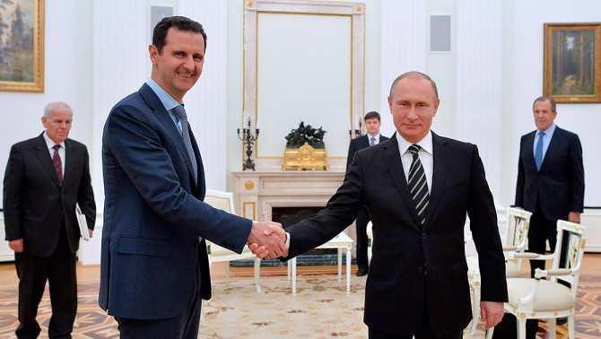 Россия никогда не пыталась навязать Сирии свои решения, — Асад | Русская весна