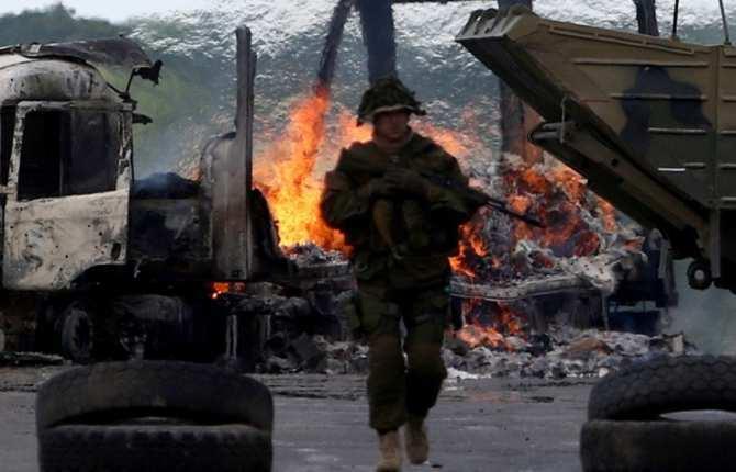 Порошенко назвал число украинских военных на Донбассе | Русская весна