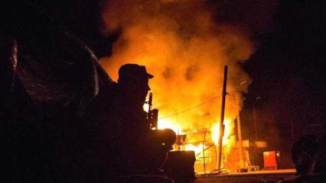 Донецк: бой на Петровке, под мощным обстрелом ВСУ Трудовские и Александровка, есть возгорания | Русская весна