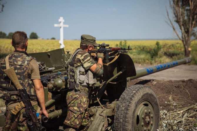 ДНР: cнова бои в районе Марьинки и Горловки | Русская весна
