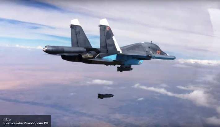 ВКС РФ по наводке оппозиции Сирии уничтожили склад, принадлежащий террористам | Русская весна