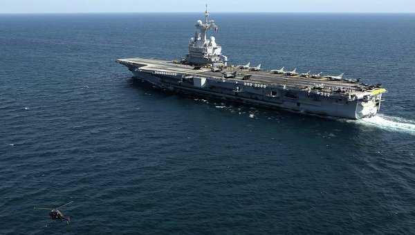Авианосцы США и Франции могут начать совместные удары по ИГИЛ в Сирии   Русская весна