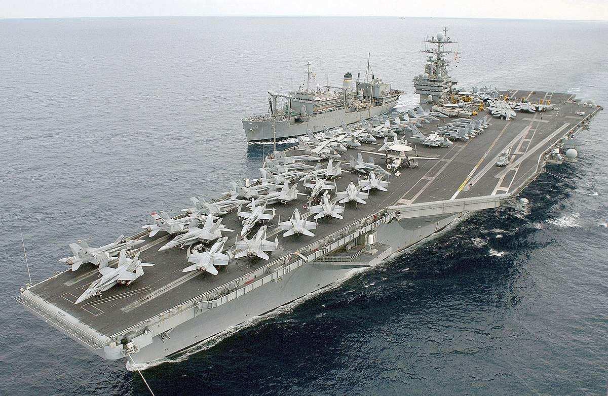 США вернули авианосную группу к берегам Сирии | Русская весна