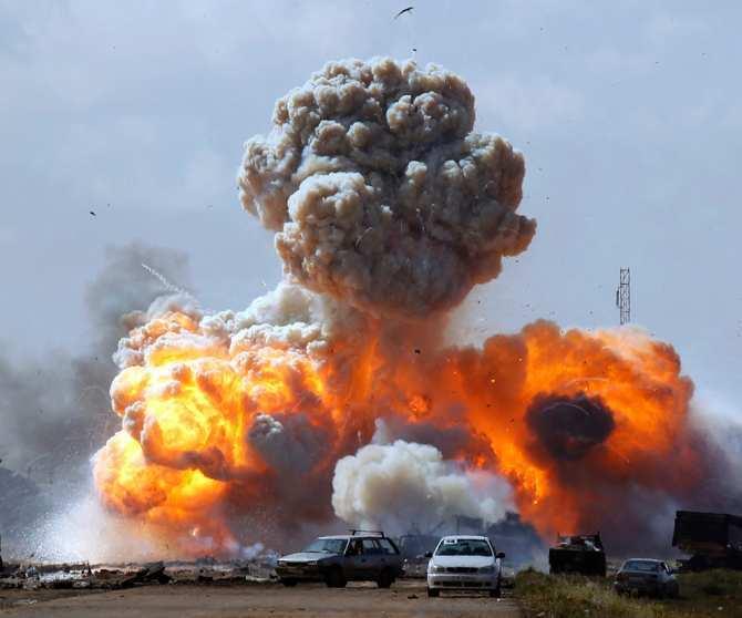 Огненный ад: «Русвесна» побывала на месте ночных авиаударов по Сирии (ВИДЕО) | Русская весна