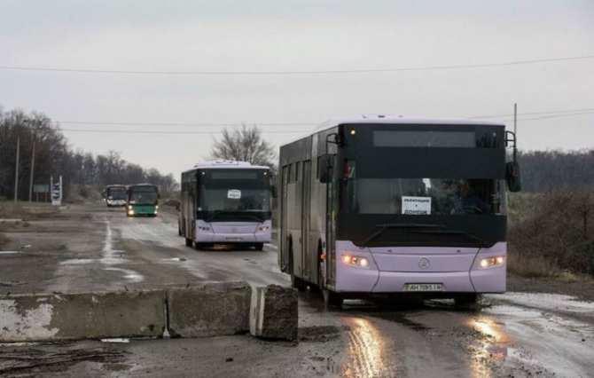 Прервано автобусное сообщение ДНР и Украины | Русская весна