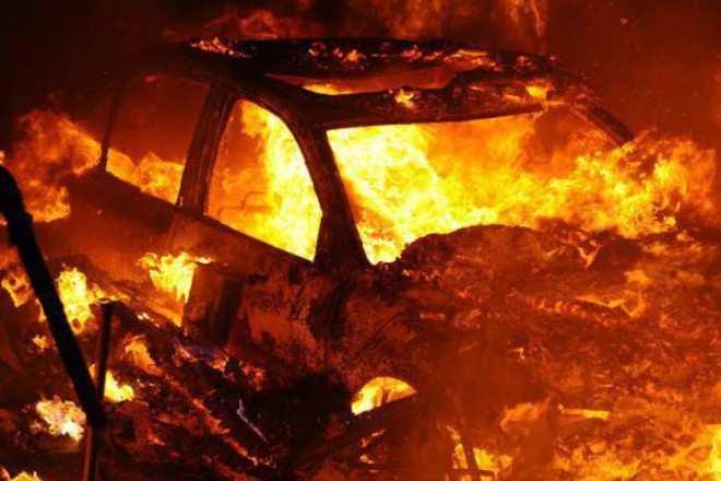 МВД Украины назвало причину взрыва автомобиля в Киеве | Русская весна