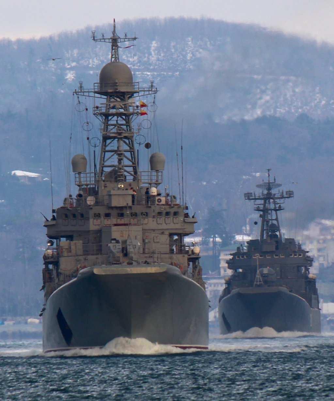 Большие десантные корабли ВМФ России «Азов» и «Минск» направляются в сторону Сирии | Русская весна