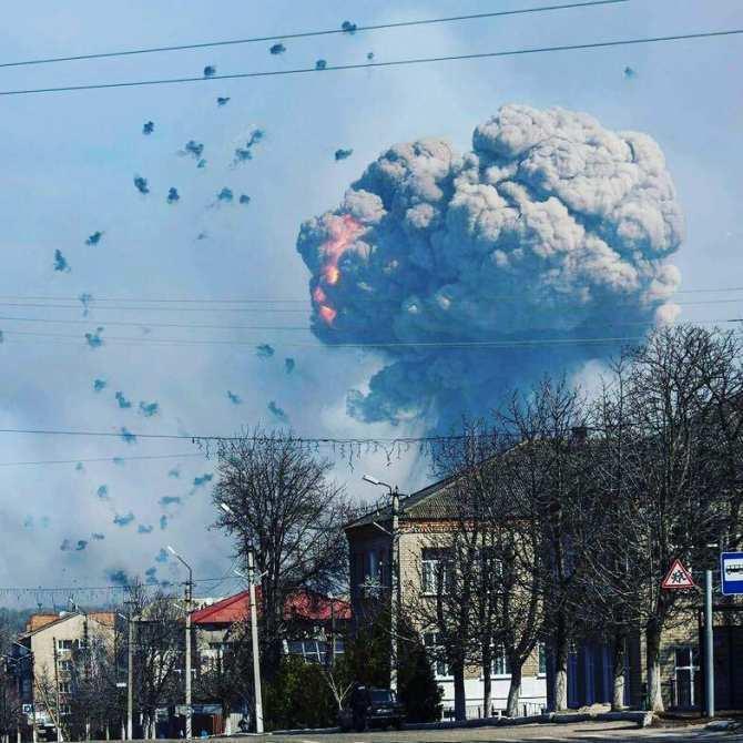 В Балаклее продолжают рваться снаряды, отключено газоснабжение   Русская весна