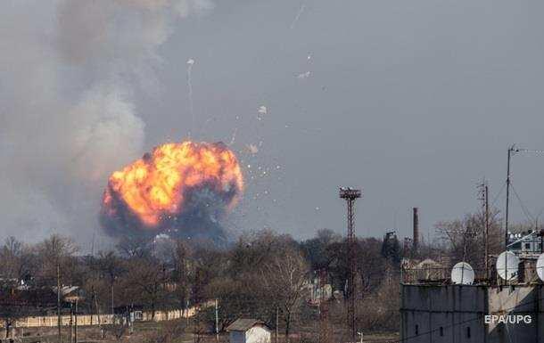 ВБалаклее продолжают рваться боеприпасы | Русская весна