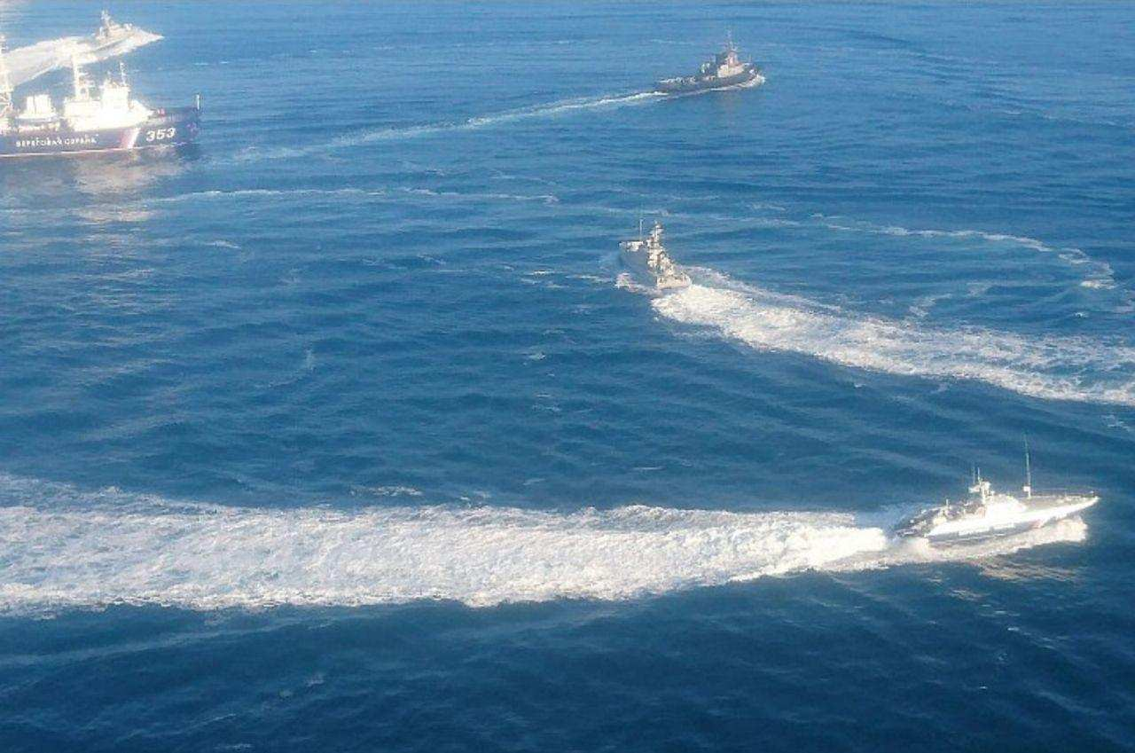 ВМС Украины прокомментировали «агрессию» российских кораблей   Русская весна