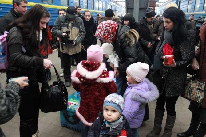 За год в Россию переехали почти миллион человек из Донбасса | Русская весна