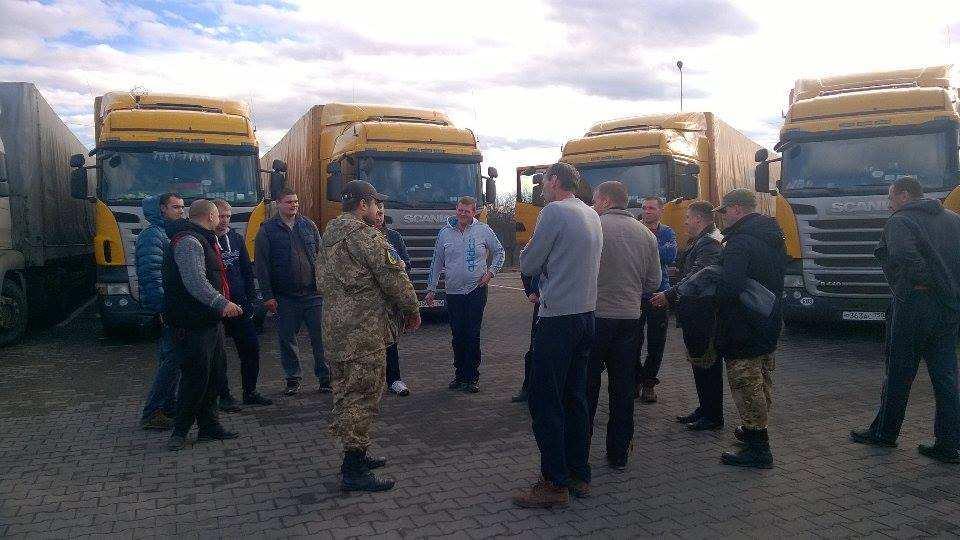 В России задержано 197 украинских фур, — Минтранс РФ | Русская весна