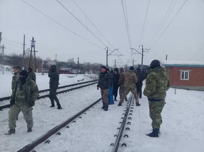 Зрада: Правительство Германии требует немедленно прекратить блокаду Донбасса | Русская весна
