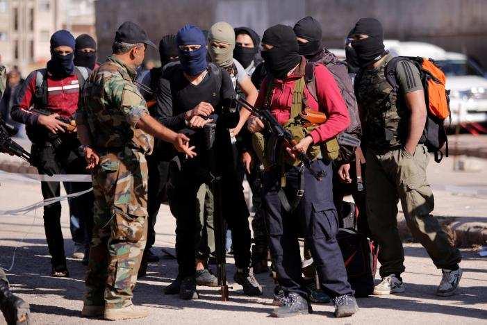 Кадры из Сирии: Боевики плачут, их обижают Россия и Асад (ФОТО) | Русская весна