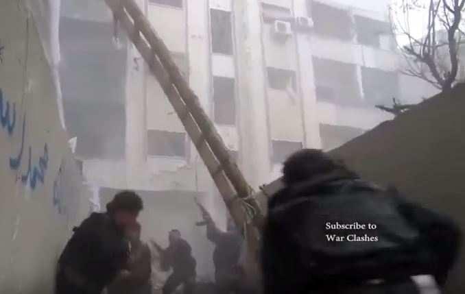 Отморозки-джихадисты на танках и «умеренная светская оппозиция» слились в горячем экстазе (ВИДЕО, перевод) | Русская весна