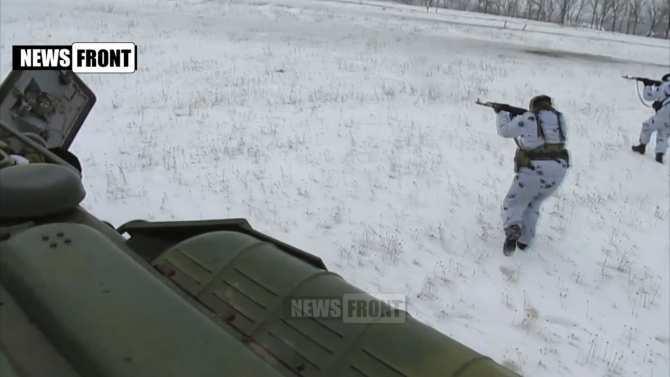 Бойцы 3-го Мотострелкового Батальона тренируются на полигоне, они полностью готовы к наступлению (видео) | Русская весна