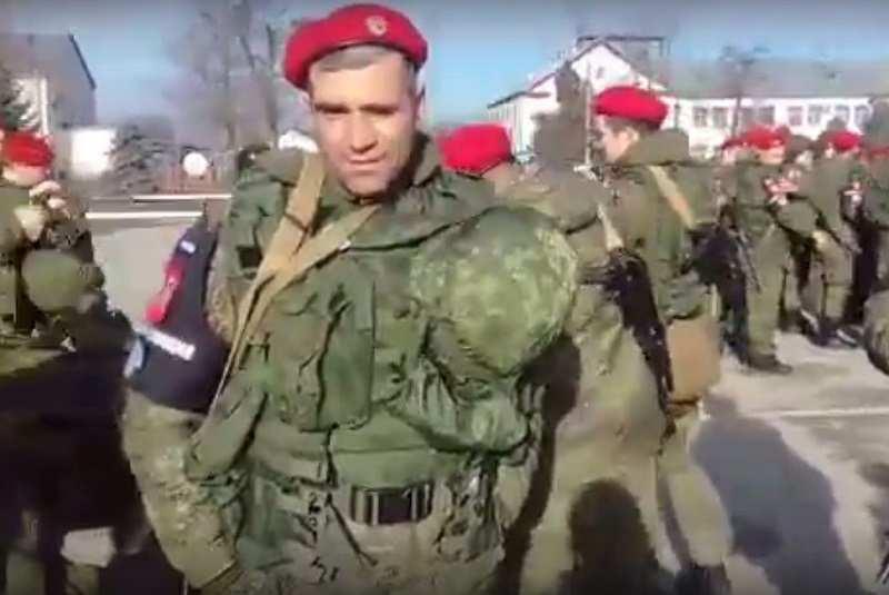Военные из Чечни отправляются в Сирию (ВИДЕО) | Русская весна