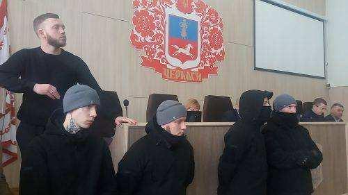 Украина: Майдановцы напуганы, неонацисты захватывают власть, угрожая депутатам (ФОТО) | Русская весна