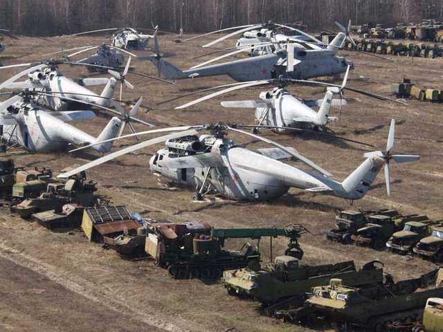 СМИ показали опустевшую свалку чернобыльской радиоактивной техники (ФОТОФАКТ) | Русская весна